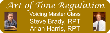 Art of Tone Regulation - Piano Voicing Master Class